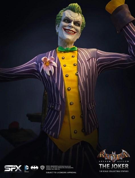 Batman Arkham Asylum Joker