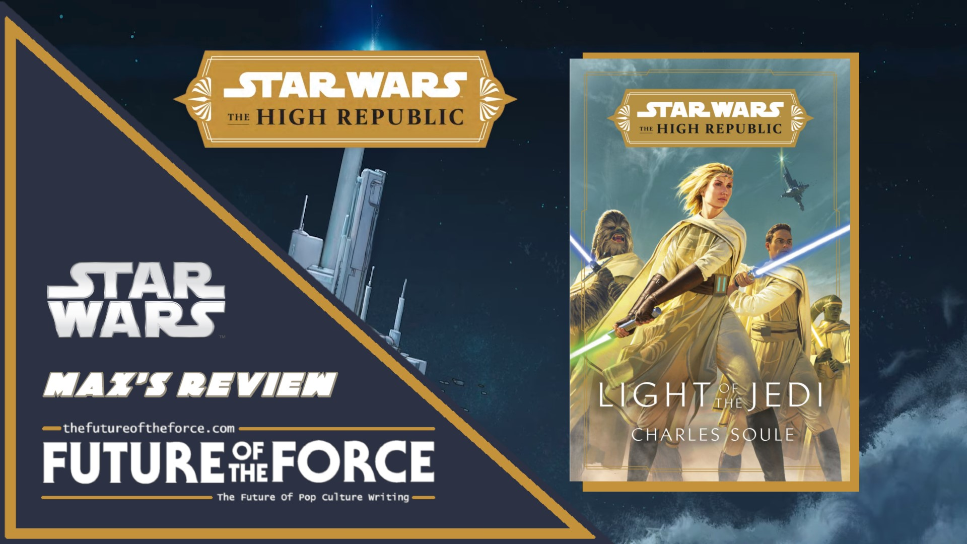Star Wars The High Republic Light Of The Jedi Review