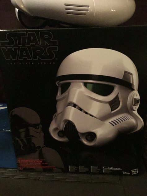 Black Series Stormtrooper Electronic Voice Changer Helmet 001