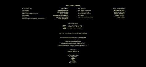 The Mandalorian Chapter 16 Credits