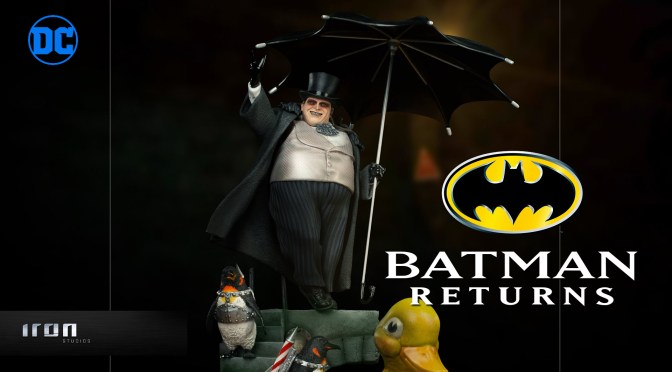 Batman Returns | The Penguin Statue From Iron Studios