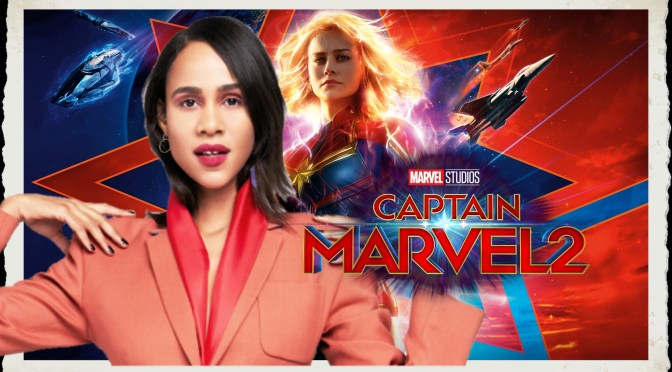 Zawe Ashton Joins The Cast Of Captain Marvel 2