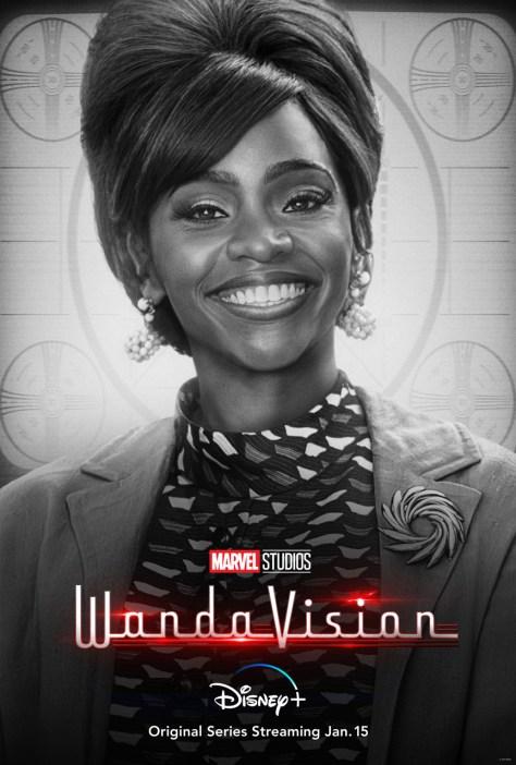 WandaVision Monica Rambeau Character Poster