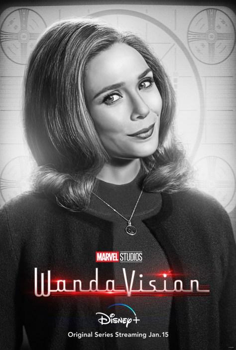 WandaVision Wanda Maximoff Character Poster