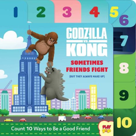 Godzilla vs Kong: Sometime Friends Fight