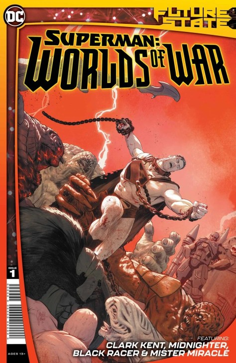 Superman Worlds Of War Cover