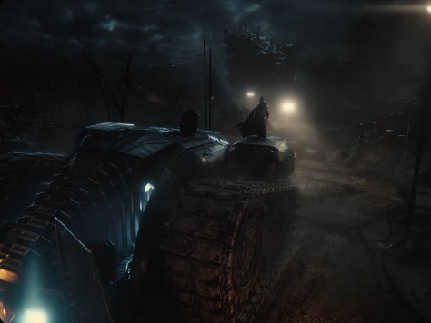 Zack Snyder's Justice League Bat-Tank