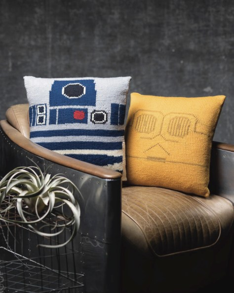 Star Wars: Knitting The Galaxy Cushions