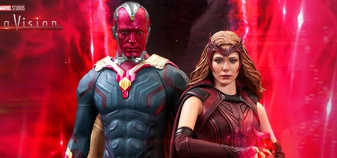 First Look | Hot Toys Scarlet Witch & Vision (WandaVision)