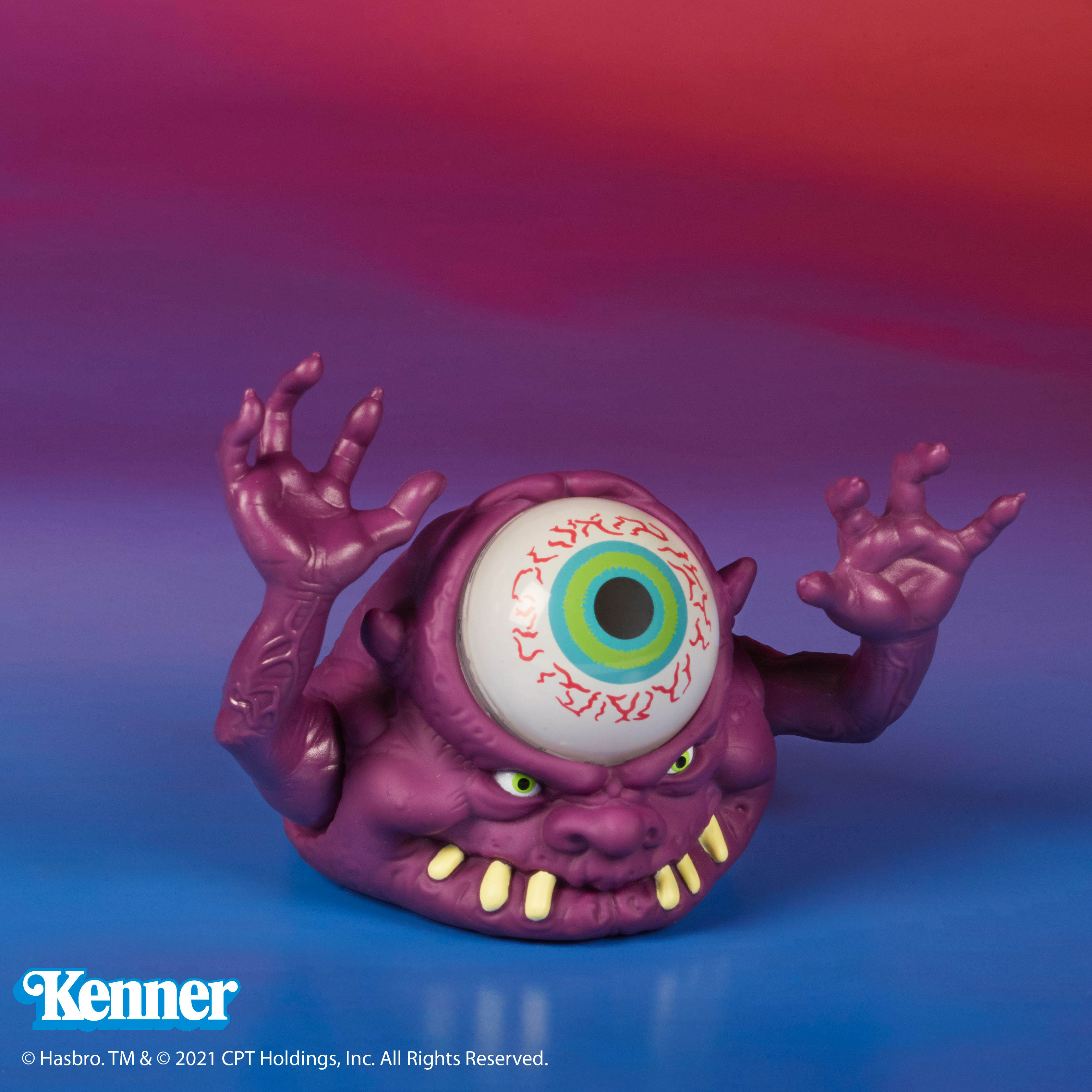 The Real Ghostbusters Kenner Bug Eye Ghost