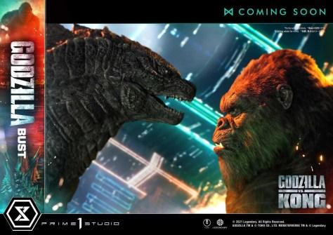 Godzilla vs Kong Kong Bust Preview