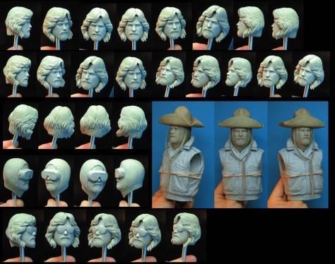 NECA The Thing MacReady Headsculpt
