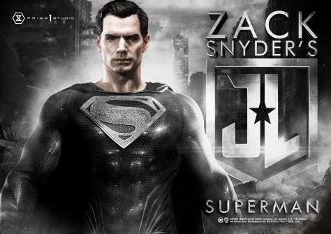 Prime 1 Black Suit Superman Statue