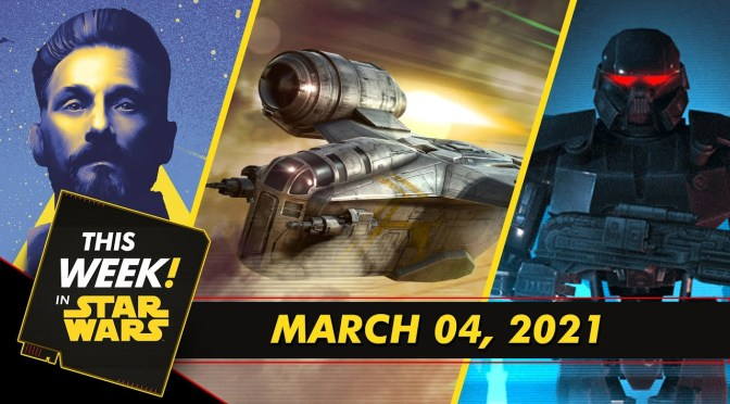 This Week In Star Wars | The Razor Crest Enters Galaxy of Heroes, We Want Your High Republic Questions, and More!