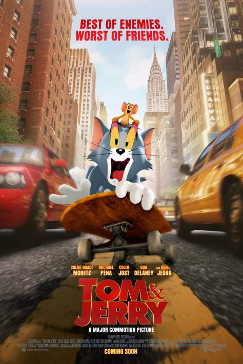 Tom And Jerry The Movie Poster