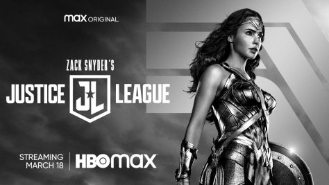 Zack Snyder's Justice League Wonder Woman Key Art
