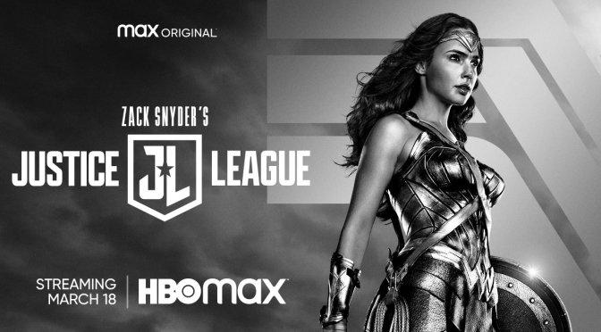 Zack Snyder's Justice League Wonder Woman Key Art