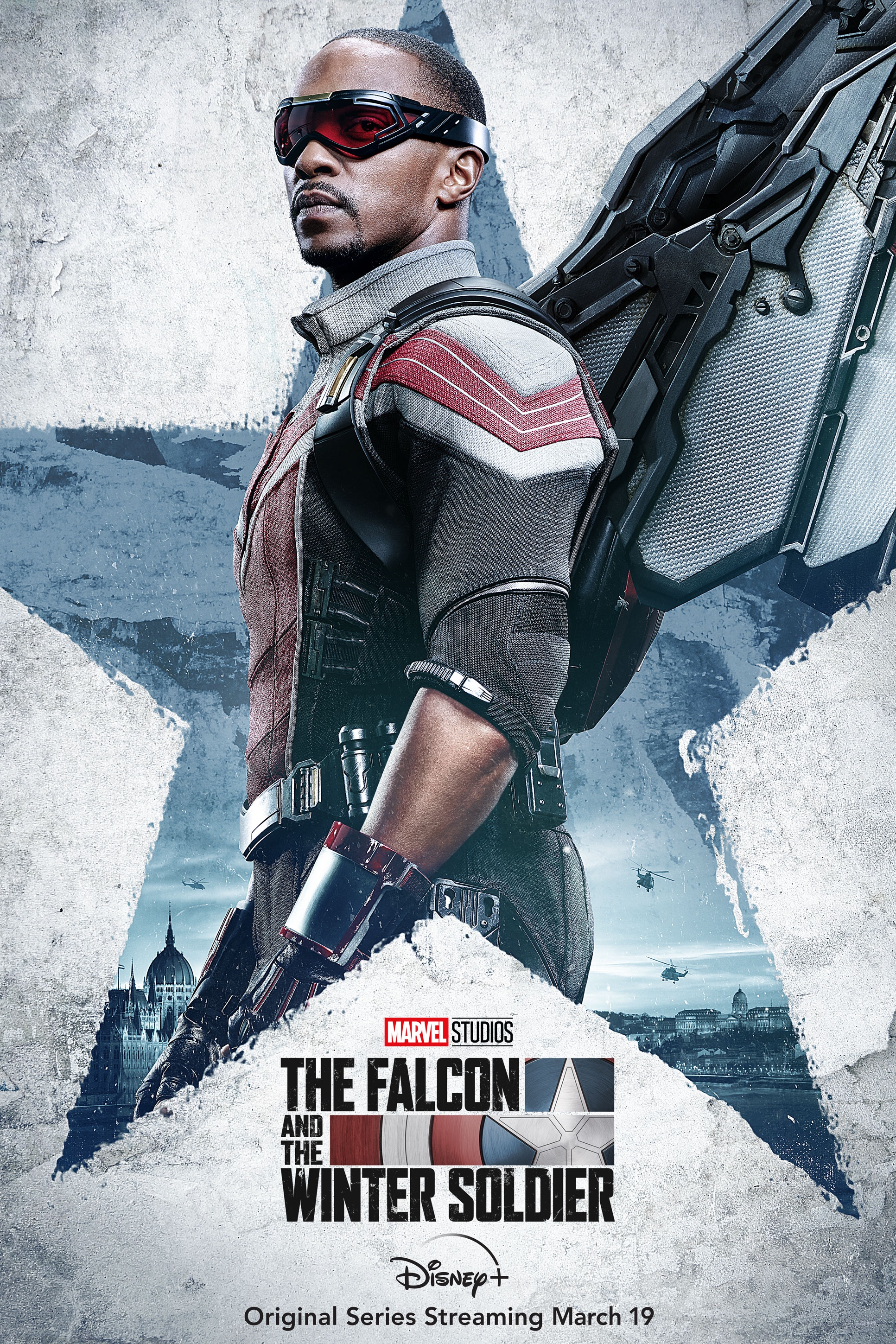The Falcon And The Winter Soldier Character Poster Falcon
