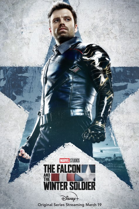 The Falcon And The Winter Soldier Character Poster - Bucky Barnes