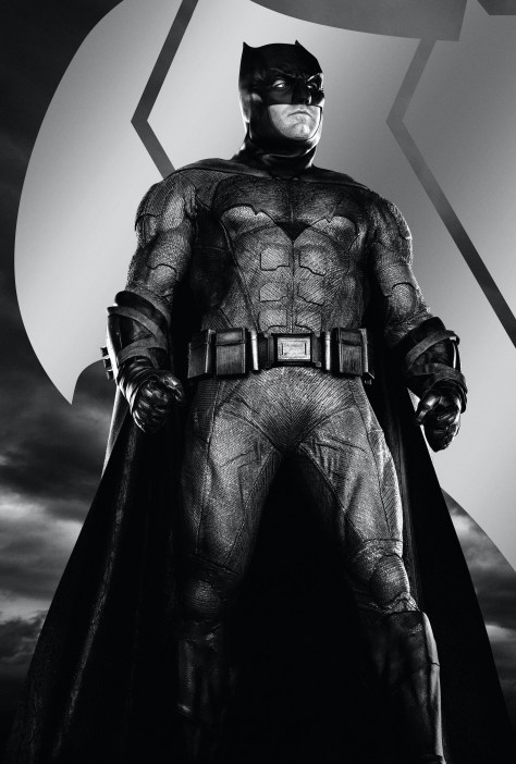 Zack Snyder's Justice League Batman Character Poster Textless