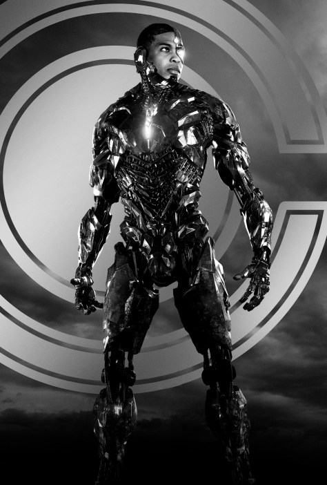 Zack Snyder's Justice League Cyborg Character Poster Textless