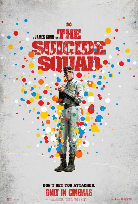 The Suicide Squad Polka Dot Man Poster