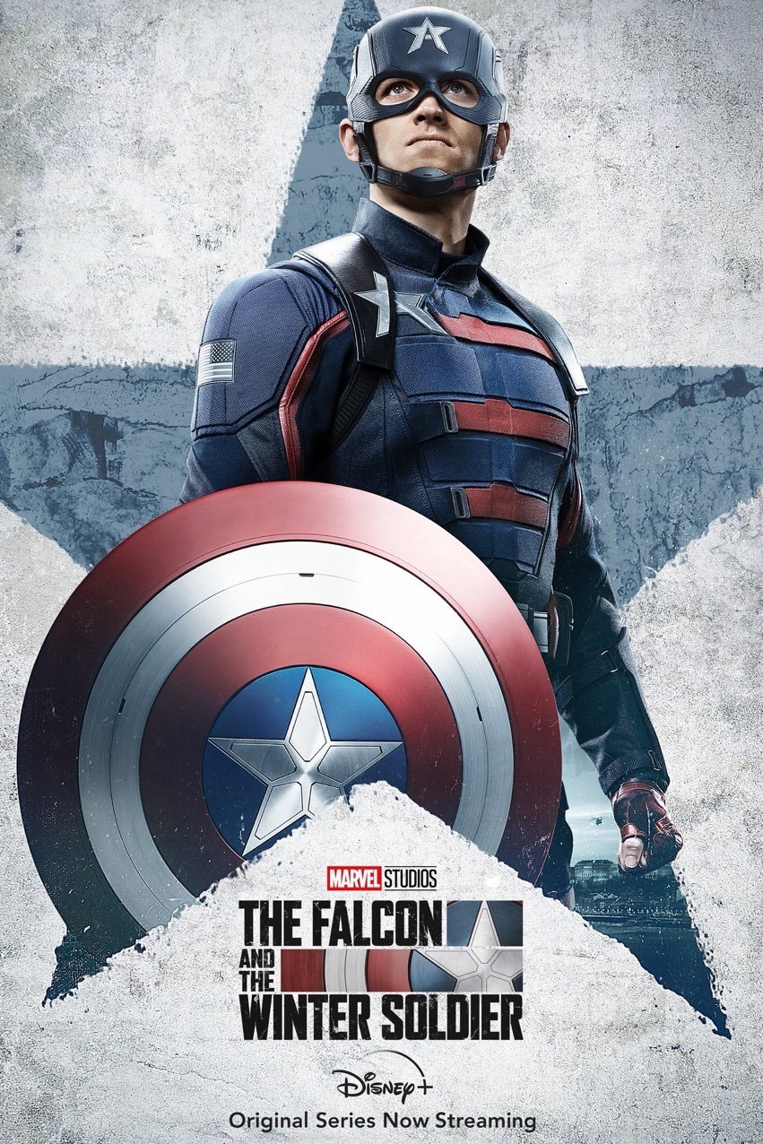 The Falcon And The Winter Soldier Character Poster - John Walker