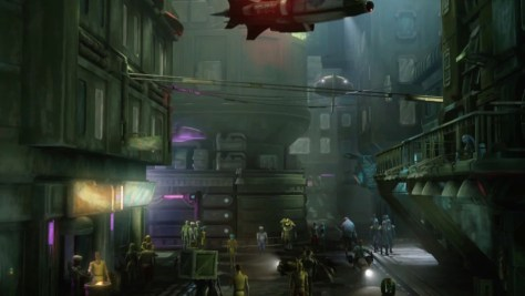 Coruscant Underwold - Star Wars Technology