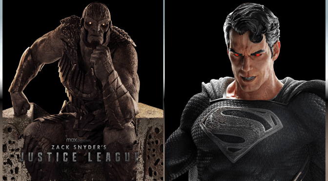 Zack Snyder's Justice League | Superman And Darkseid Statues
