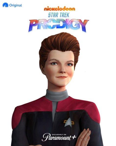 Star Trek Prodigy Janeway Revealed