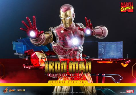 Hot Toys Iron Man (Marvel Comics)