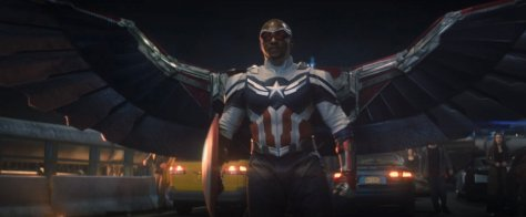 Sam Wilson - Captain America in The Falcon And The Winter Soldier