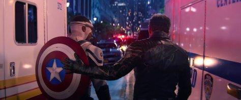 Bucky and Sam - Captain America