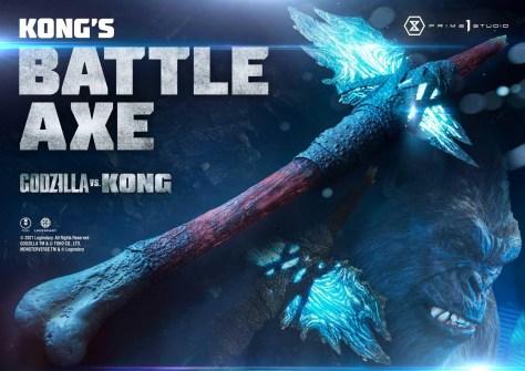 Godzilla vs Kong - Kong's Battle Axe Prime 1 Studio