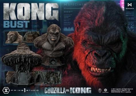 Godzilla vs Kong - Kong Bust Prime 1 Studio