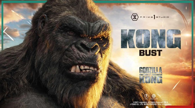 Godzilla vs Kong | New Kong Bust By Prime 1 Studio