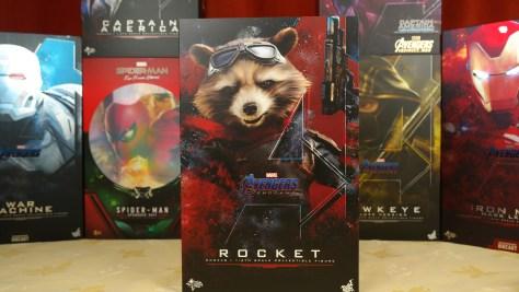 Hot Toys Review Rocket (Avengers Endgame)