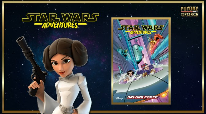 Star Wars Adventures Driving Force