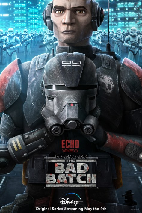 The Bad Batch - Echo Character Poster
