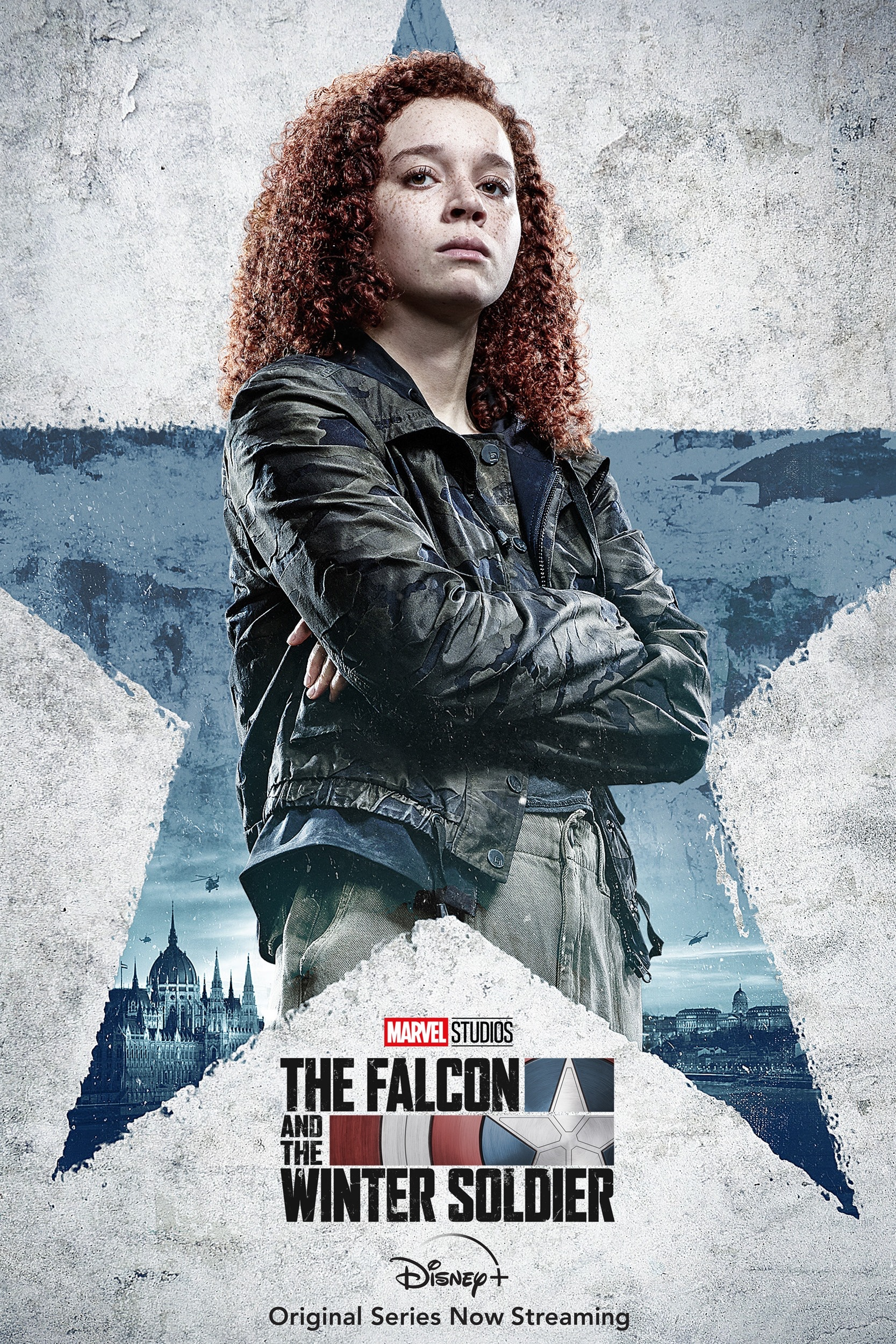 Karli Morgenthau The Falcon And The Winter Soldier Character Poster