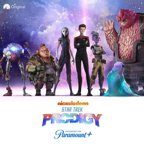 The Crew Of Star Trek: Prodigy