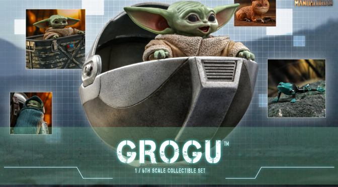 First Look | Hot Toys Grogu (The Mandalorian)