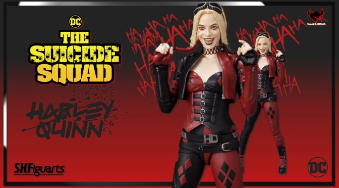 First Look | S.H. Figuarts Harley Quinn (The Suicide Squad)