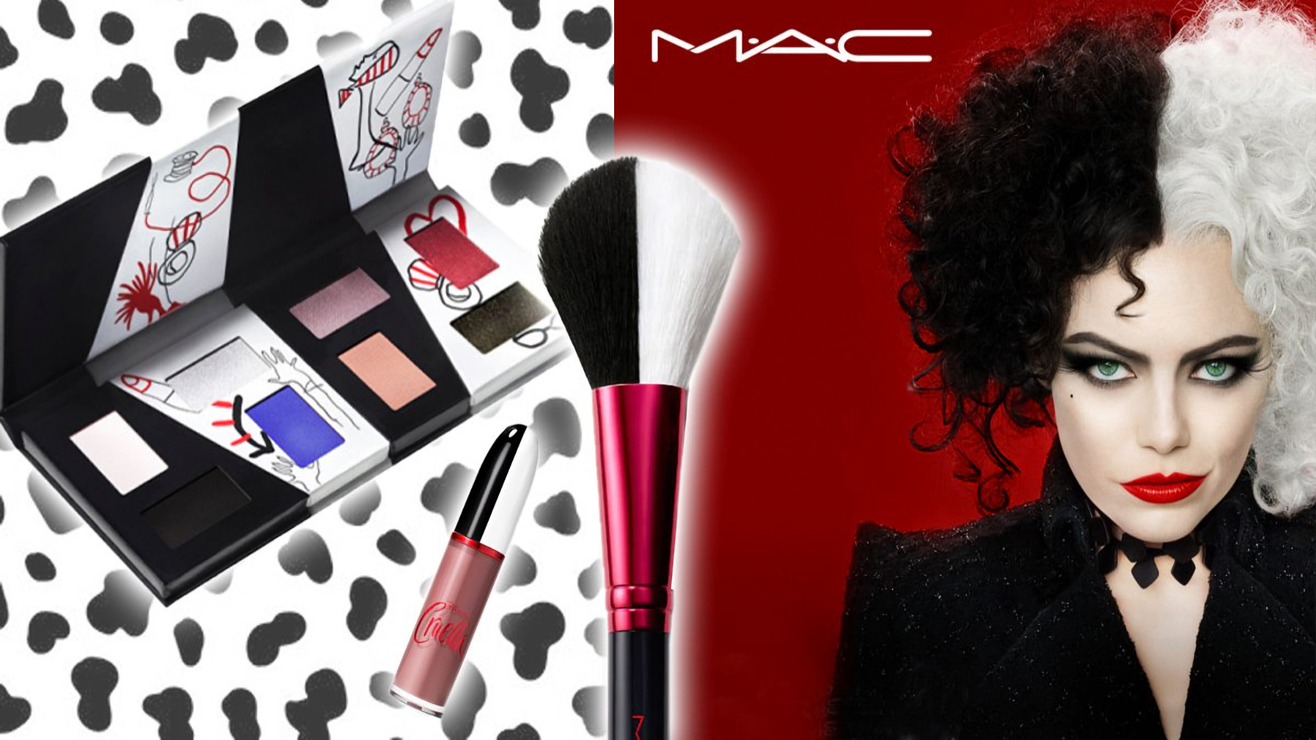 The Disney Cruella Collection By MAC