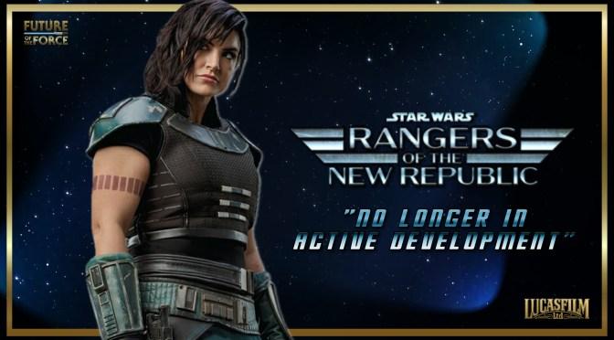 Rumour | Star Wars: Rangers Of The New Republic Shelved!