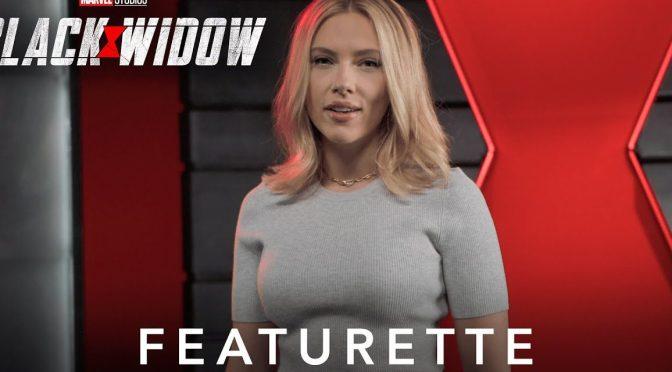 A New Featurette For Black Widow Celebrates Superheroes