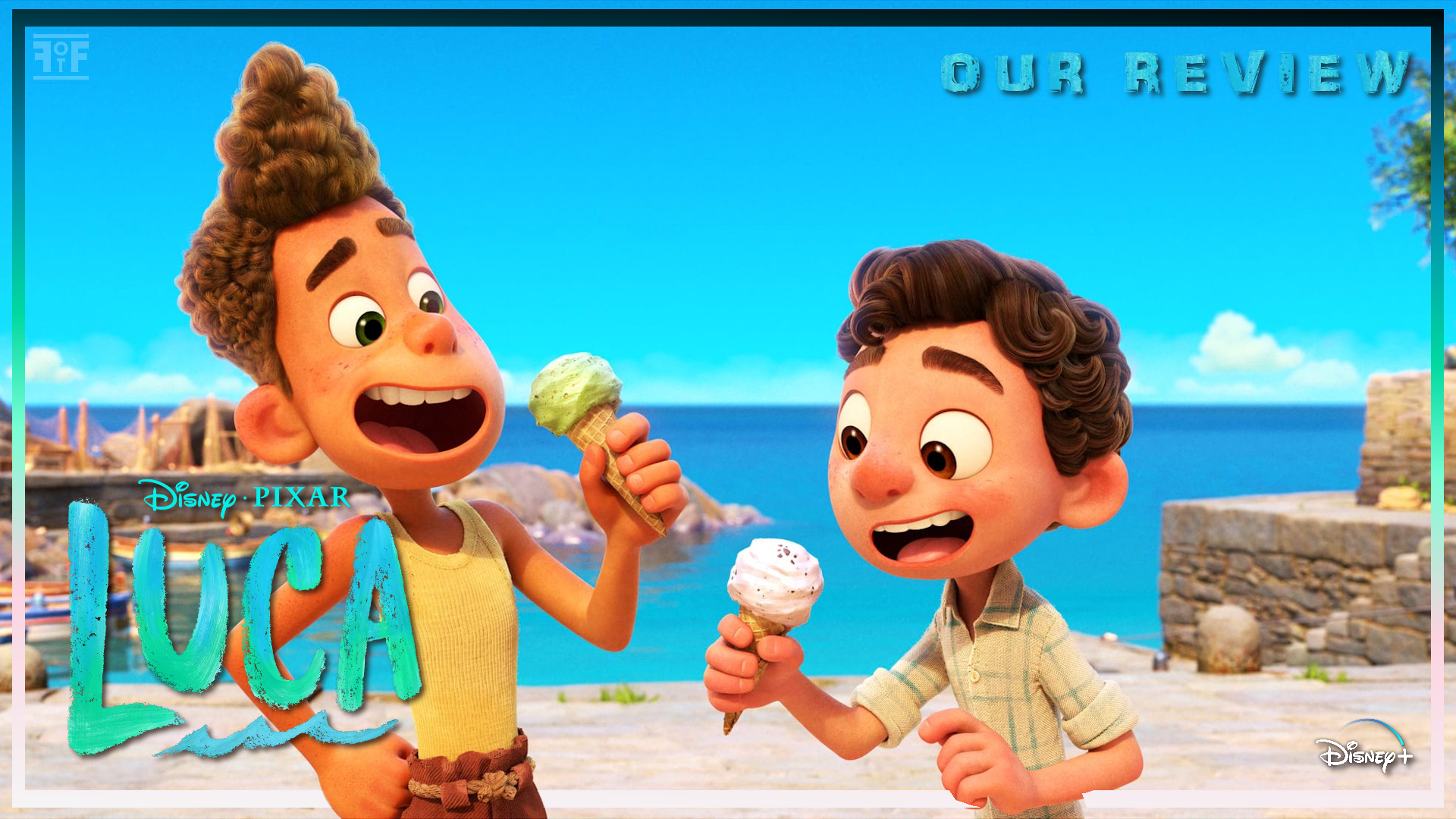 Disney's Pixar LUCA