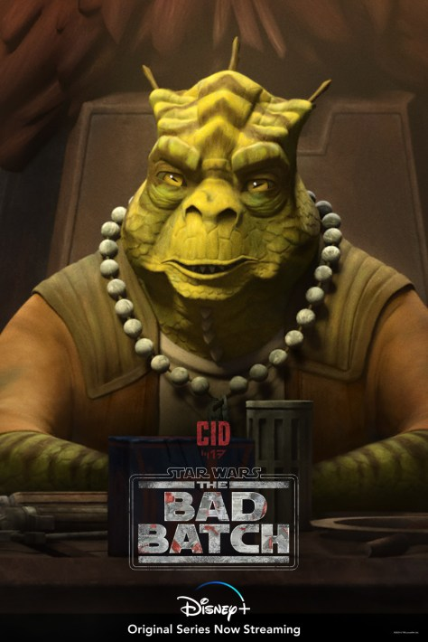 The Bad Batch Cid Character Poster