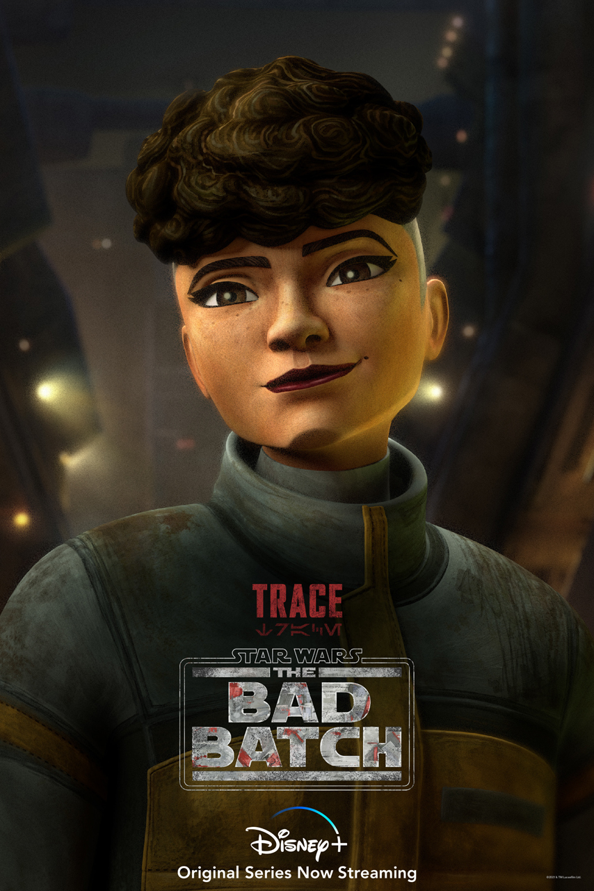 The Bad Batch Trace Character Poster