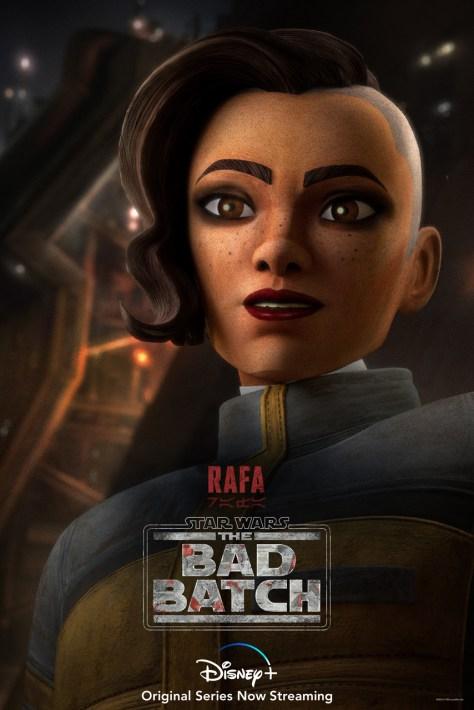 The Bad Batch Rafa Character Poster